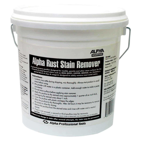 Alpha Rust Stain Remover for Stone