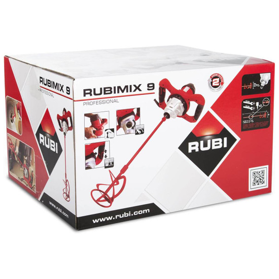 24949 Rubimix 9-N Mixer With Chuck & Paddle in box