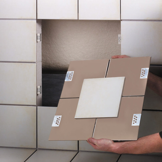 Magnetic Access Panel Tile Kit Contractors Direct