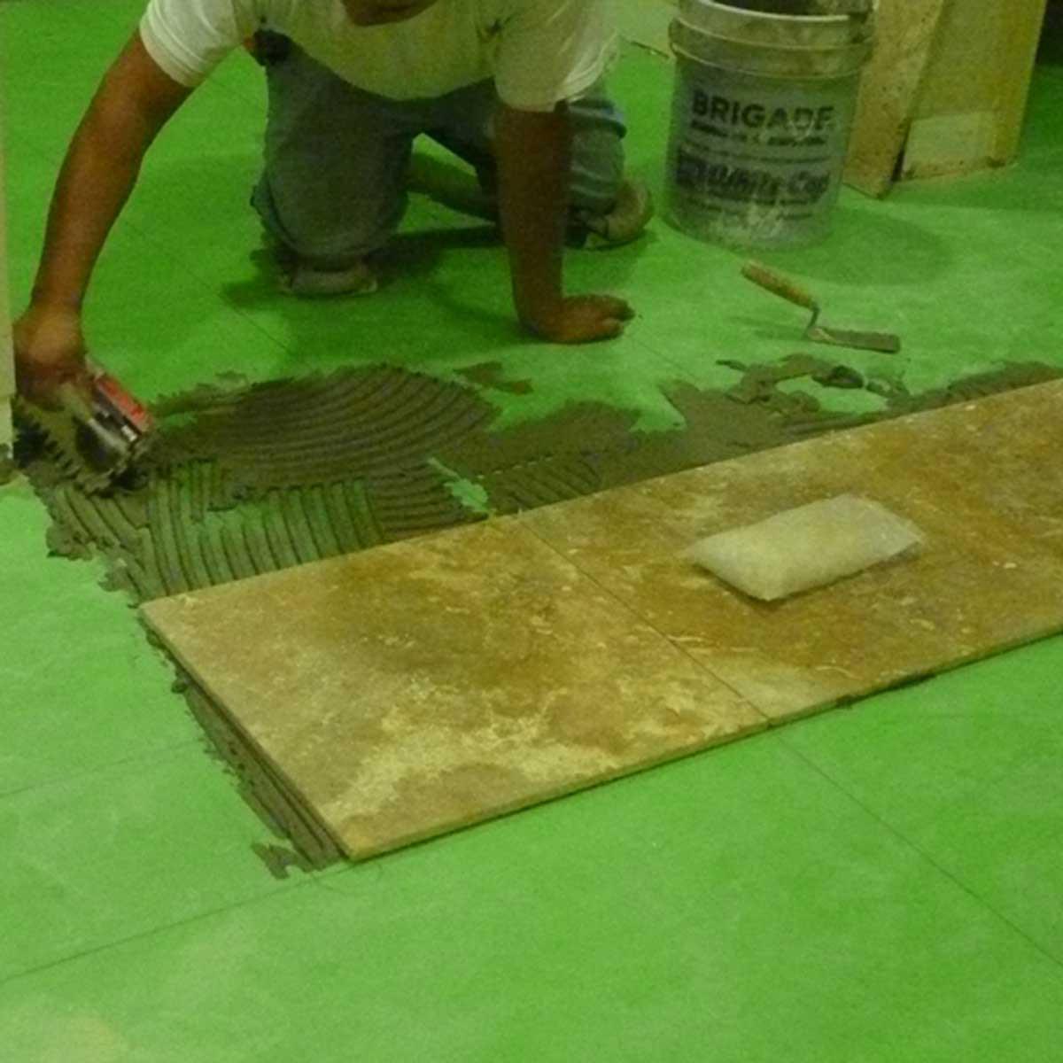 GreenSkin Flooring Flooring install