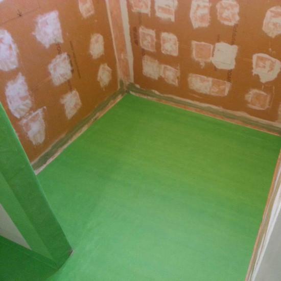 GreenSkin Underlayment Installation