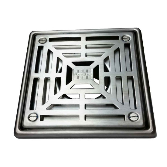 Laticrete 5 inch Square Shower Drain
