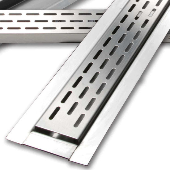 Laticrete HydroBan Linear Drain Closeup
