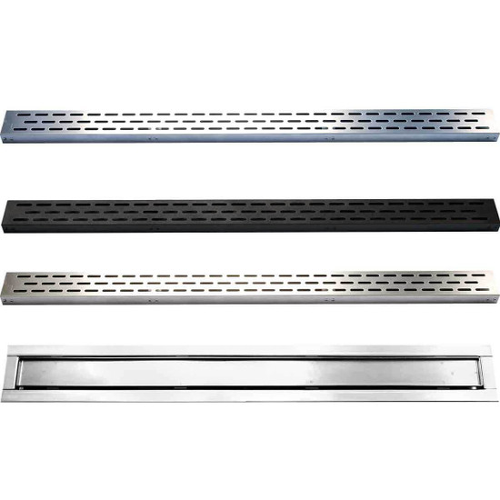 Laticrete HydroBan Linear Drain Grate Options