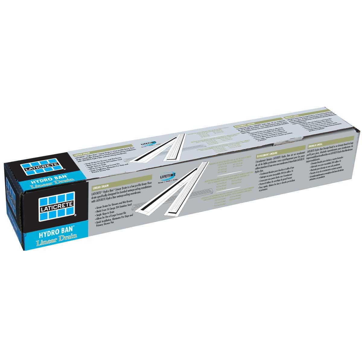 60 inch Laticrete Hydro Ban Linear Drain