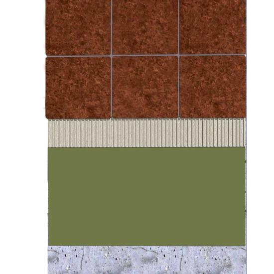 ceramic tile over laticrete hydro ban
