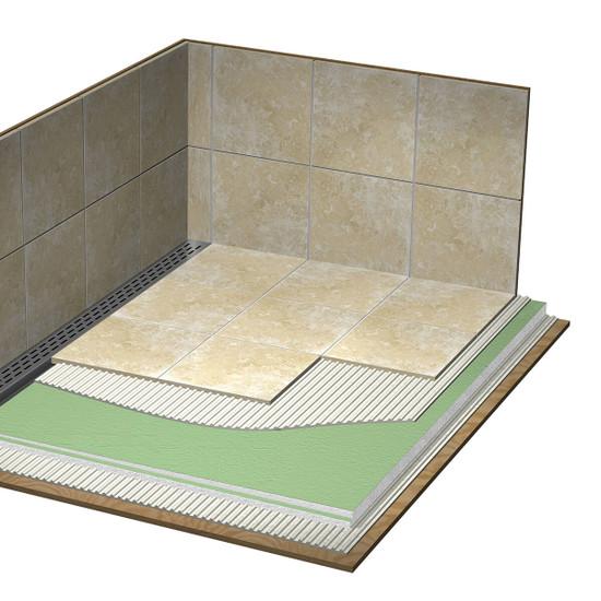 Laticrete Hydro Ban Shower Installation