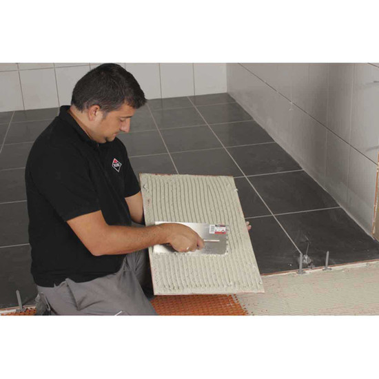 Skim Coating Tile with Rubi Trowels