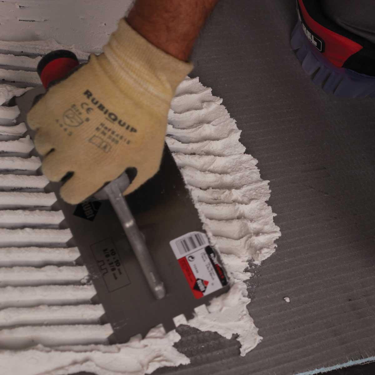 Rubi Notched Trowels ceramic tile