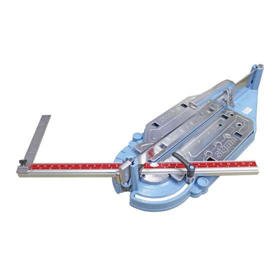 sigma 26 inch pull tile cutter