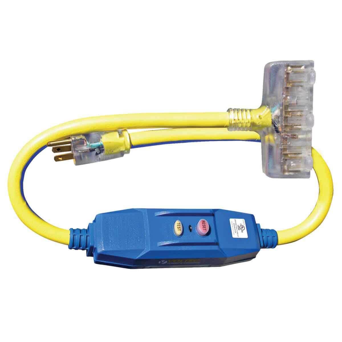 Voltec 12/3 20 Amp GFCI Power cord