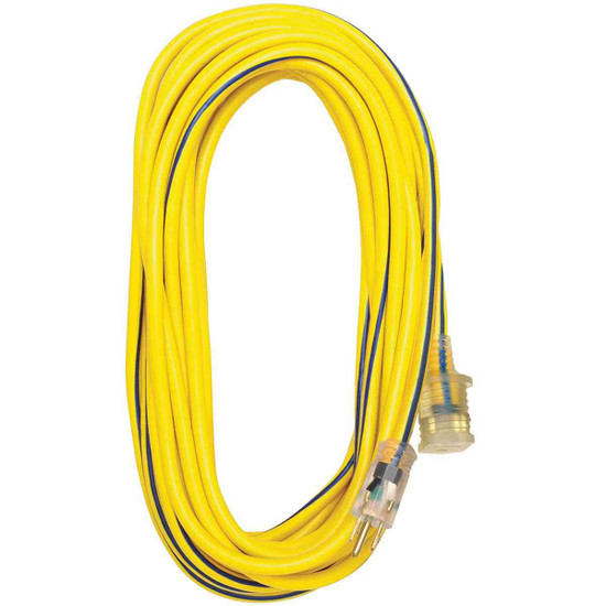Voltec 25 ft.Outdoor Extension Cord with Lighted End