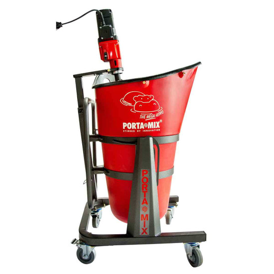Portamix Hippo Mixing Station With Castors