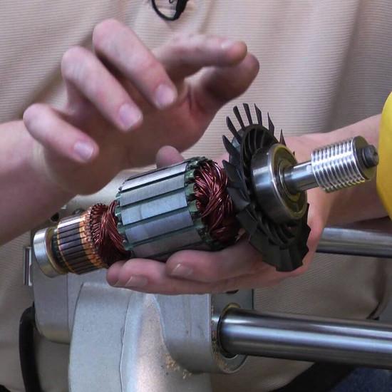 Dewalt D24000 Armature Install