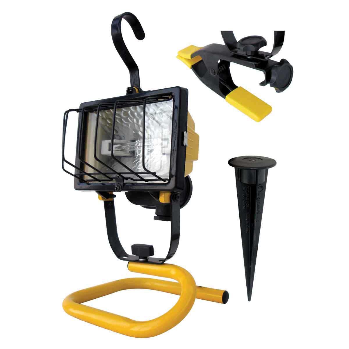 voltec 250 watt heavy duty tripod clamp light