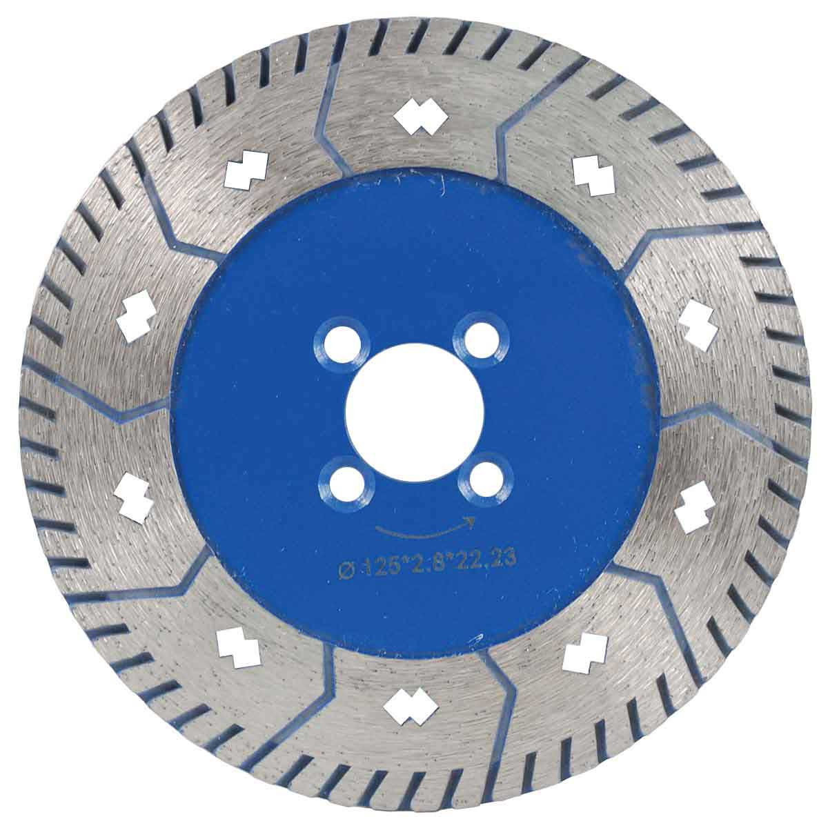 diamant boart 5in fury cutting blade