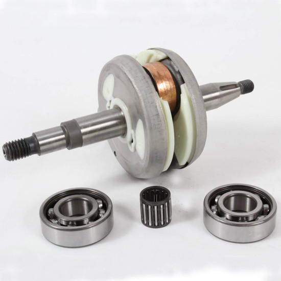 502295002 Husqvarna Crankshaft For K750 & K760 Includes 2 main bearings and pin bearing