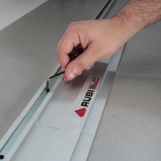 rubi slim cut rail assembly key