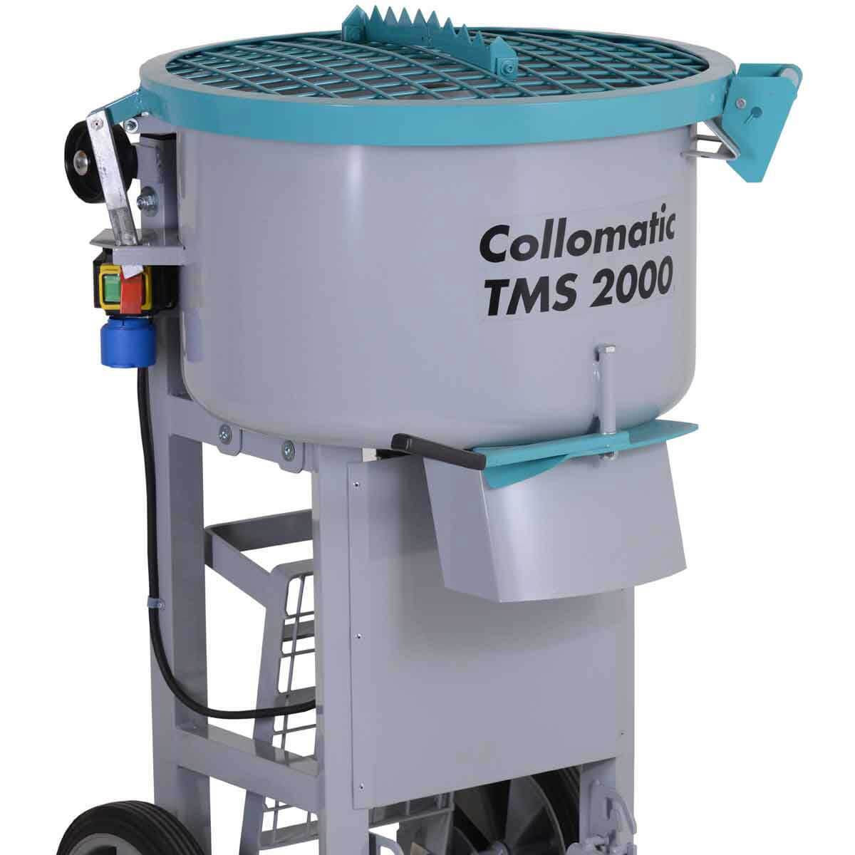 Collomix TMS 2000 Mortar Mixer drum