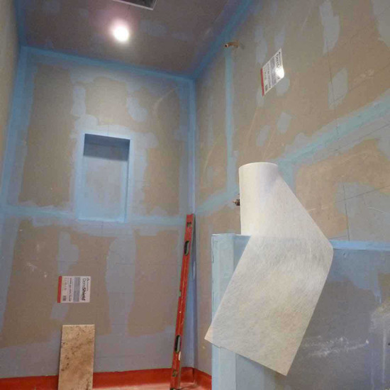 Laticrete Hydro Barrier Approximate coverage is 175 sq. ft. with two coats balconies over unoccupied spaces, Counter tops and facades, Steam rooms with a vapor barrier