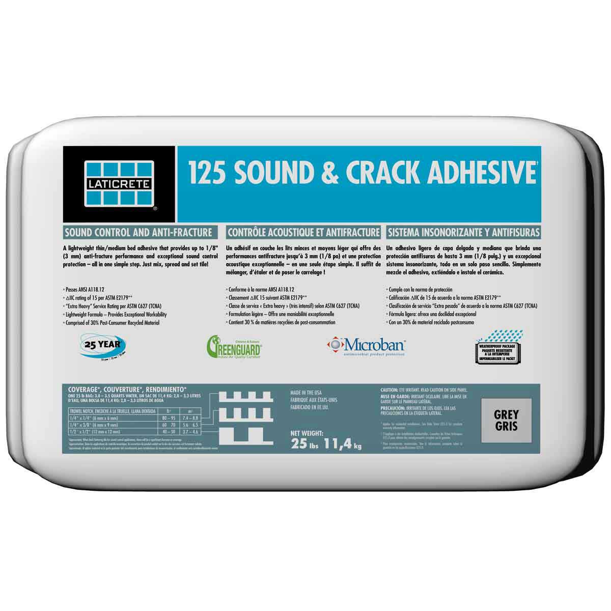 Laticrete 125 Sound & Crack Adhesive Mortar
