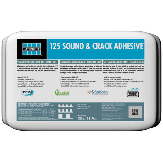 Laticrete 125 Sound Crack Adhesive