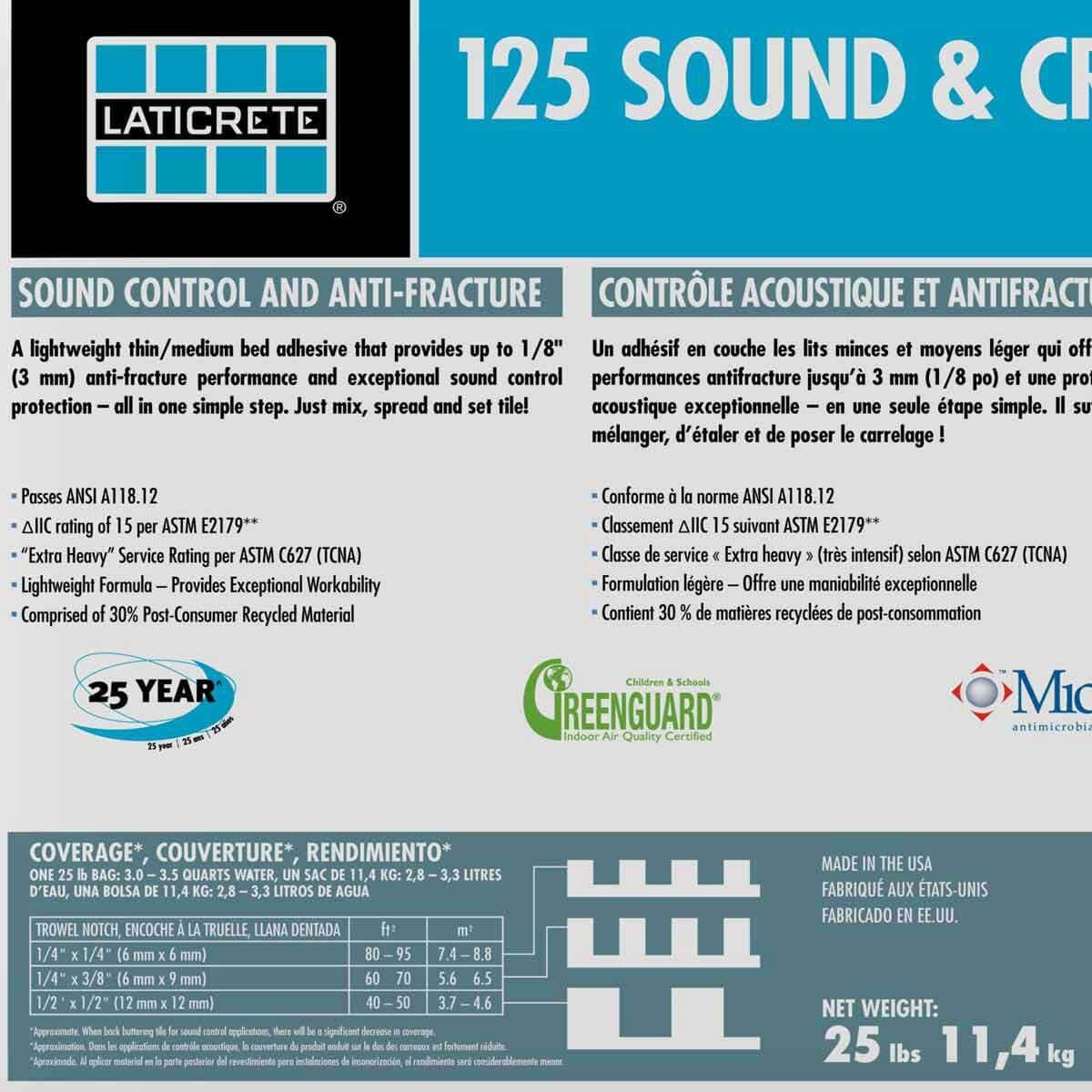 Laticrete Crack Adhesive Mortar 0125-0025-21