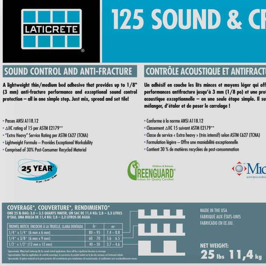 Sound and Crack Adhesive Mortar