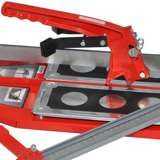 Push type tile cutters designed for professionals, Dual breaking system for large porcelain tile Manufactured with a strong steel base