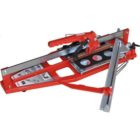 Push type tile cutters designed for professionals Dual breaking system for large porcelain tile, Manufactured with a strong steel base