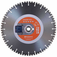 Husqvarna HG3 14 inch Diagrip Diamond Saw Blade Optimal distribution of the diamonds and holds them in the segment longer, ensuring blades with superior cutting capacity, longer life and a smooth cut