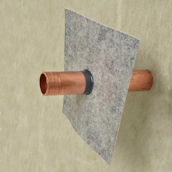 Laticrete HydroBan Pipe Collar Installed