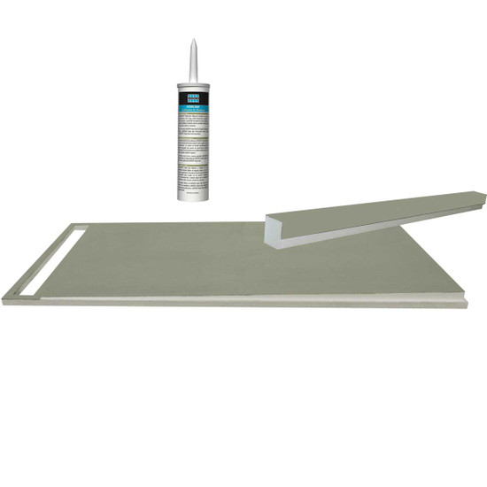 Hydro Ban Pre Sloped Shower Pan Answered Questions 0 Laticrete Linear Drain Base