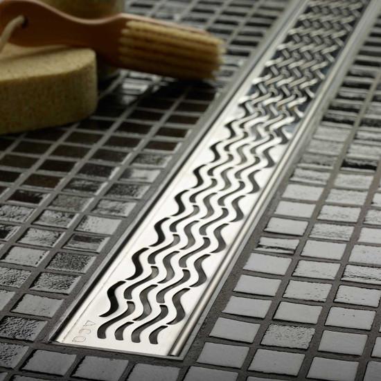 ACO Plus Wavy Design Grate Linear