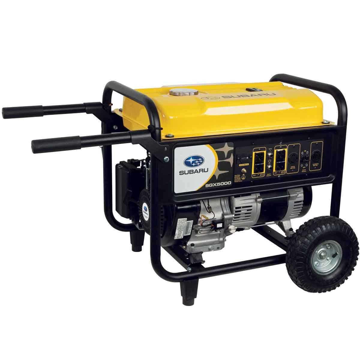 Subaru Commercial Portable Generator 4,900 Watt