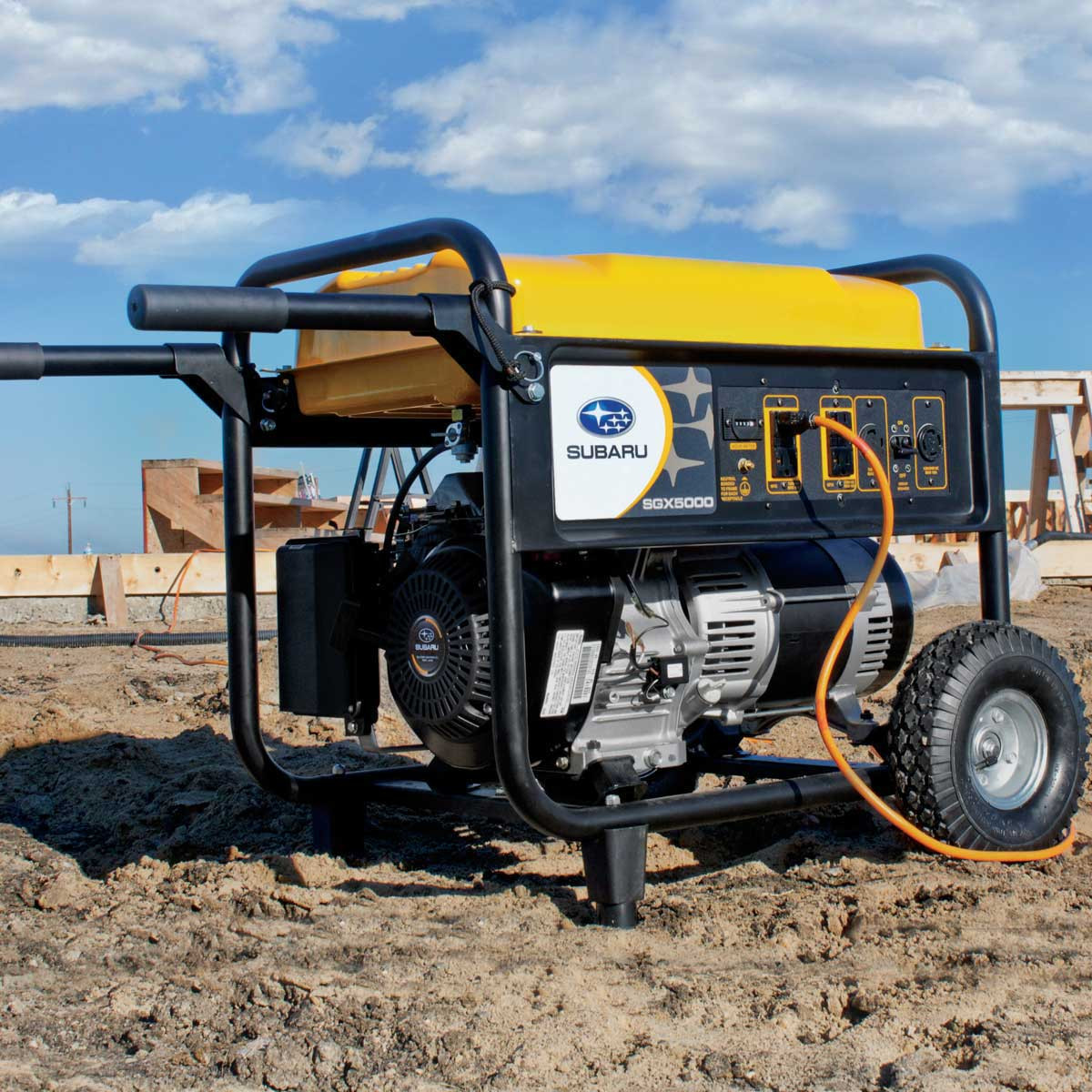 Two-Wheel Kit portable subaru generator
