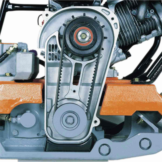 Mikasa MVH158GH Belt Driven Plate Compactor