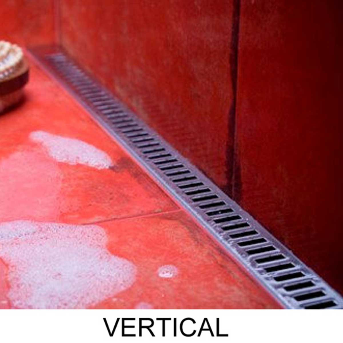 Vertical Quick Drain ProLine Linear Shower Drain
