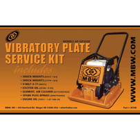 MBW GP3550 plate Service Kit