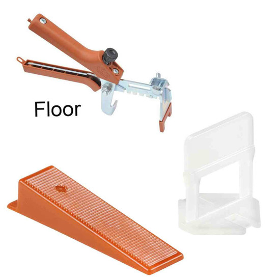 RLS 1/16 in. Spacer Tile Leveling System Contractor kit
