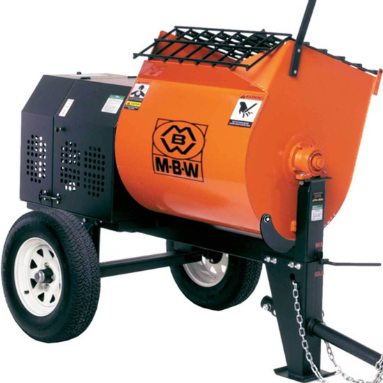 MBW Mortar Plaster Mixer