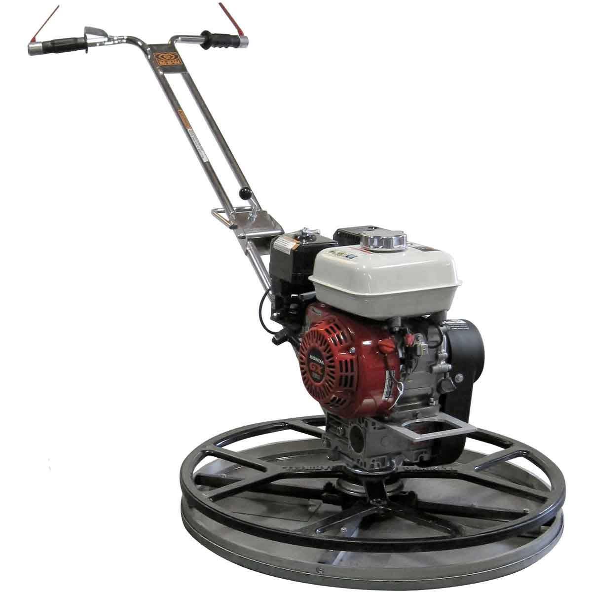 MBW F30 Power Trowel, Honda GX160, Combo Blades