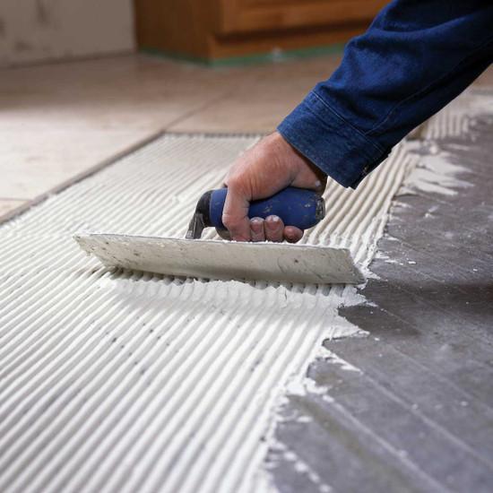 Radiant Floor Heat Installation