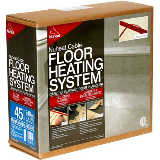 Nuheat Radiant Floor Heating