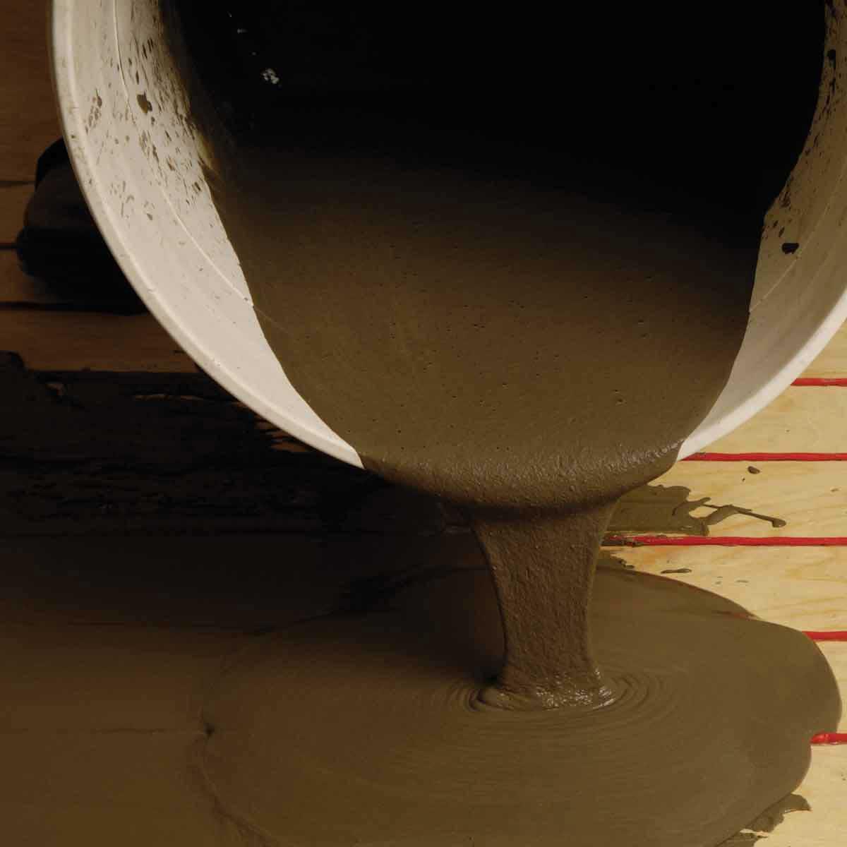 Nuheat Cable Floor Heat thin set