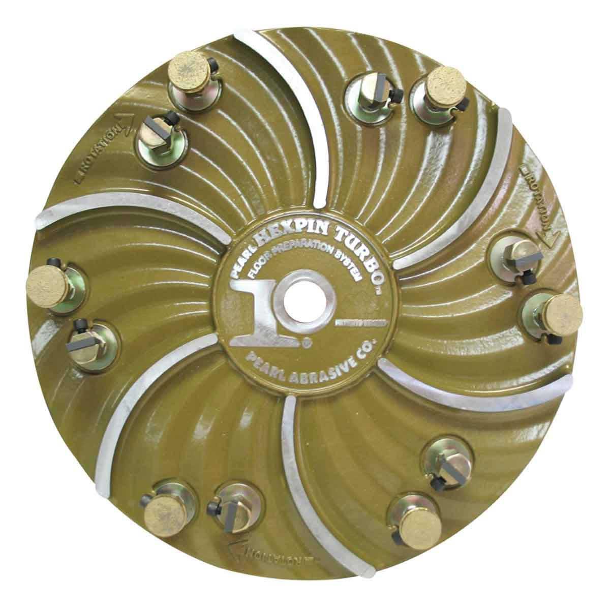 Pearl Hexpin Diamond pads hexplate