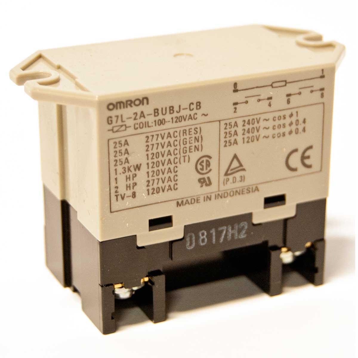 Nuheat Relay 120 Volts 25 Amp AC0006 Contractors Direct
