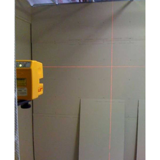 Wall Framing Laser Layout with PLS180