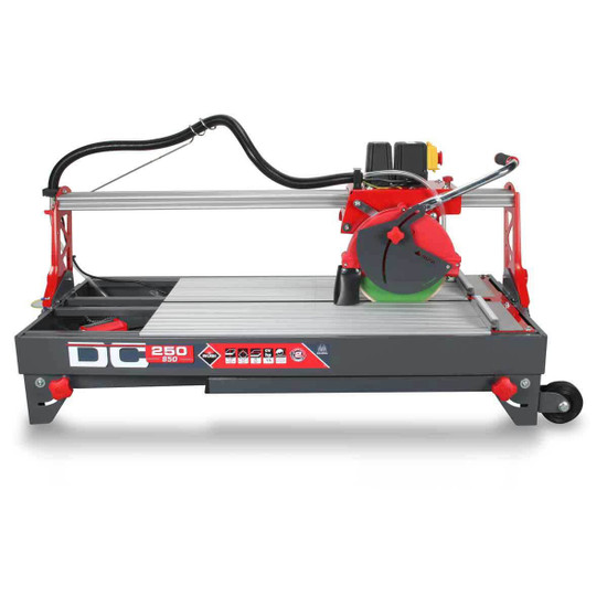 Rubi DC850 Wet Tile Saw Folded