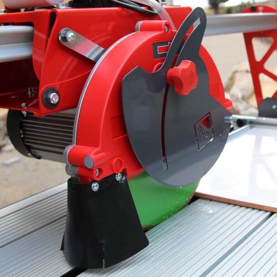 Rubi DC250-850 rail saw rip cutting porcelain tile